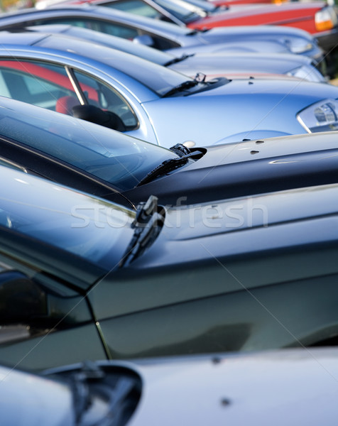 Parked Cars Stock photo © gemenacom