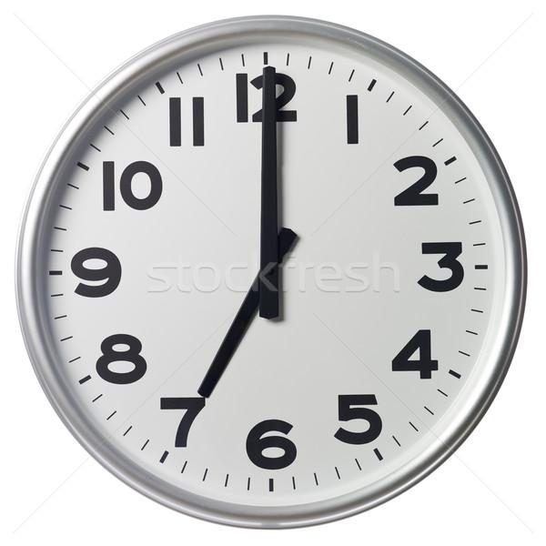 Stock photo: Seven O'Clock