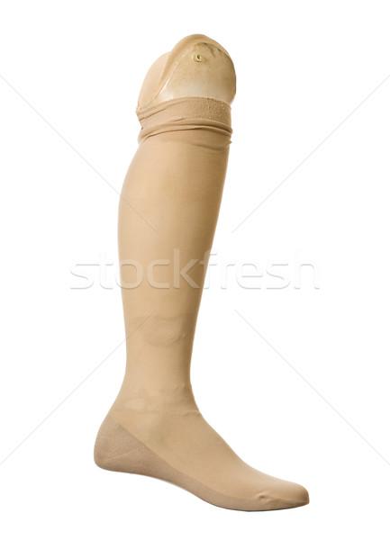 Old prosthetic leg Stock photo © gemenacom
