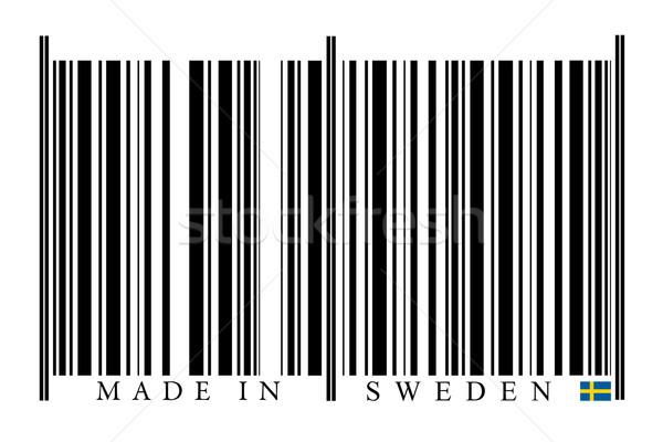 Швеция штрих белый технологий черный рынке Сток-фото © gemenacom