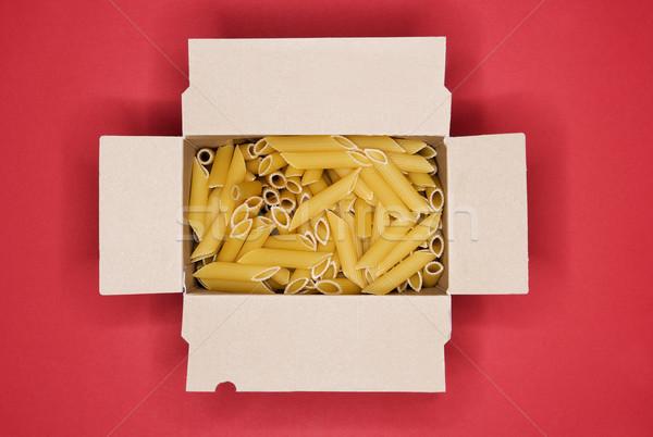 Packet of pasta Stock photo © gemenacom