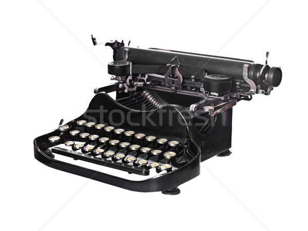 Stock photo: Vintage typewriter