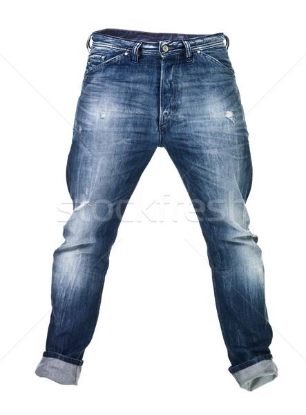 Worn blue jeans Stock photo © gemenacom