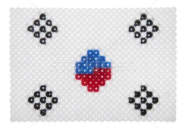 Corean Flag Stock photo © gemenacom