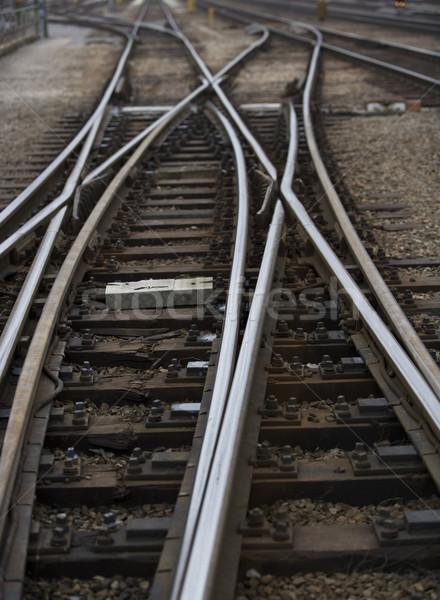 Railroad Tracks Stock photo © gemenacom