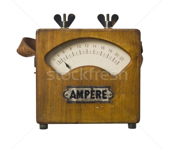 古い ラジオ 孤立した 白 音楽 レトロな ストックフォト © gemenacom