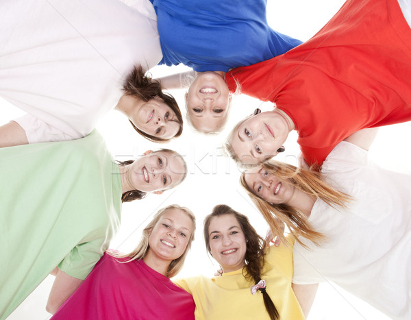 Group of Young Women Stock photo © gemenacom