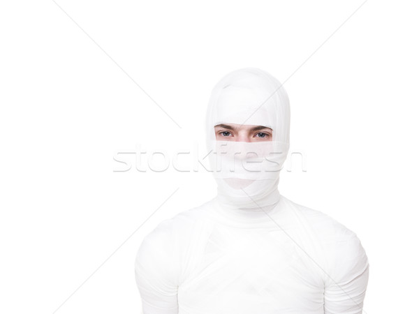 Stock photo: Mummified young Man