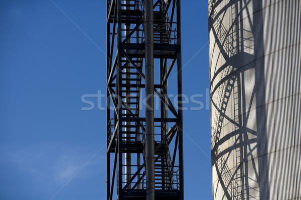 Ipari kilátás raktár tank technológia ipar Stock fotó © gemenacom