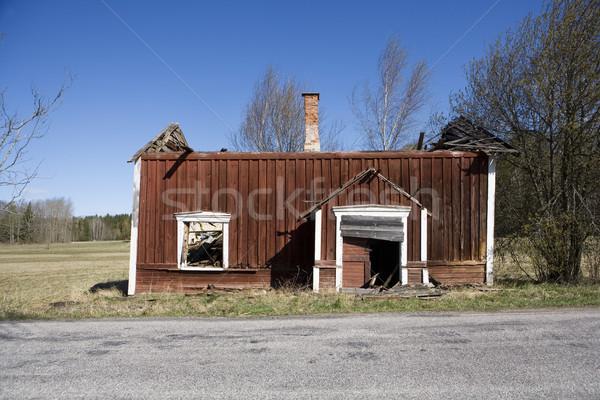 Ruined Farmhouse Stock photo © gemenacom