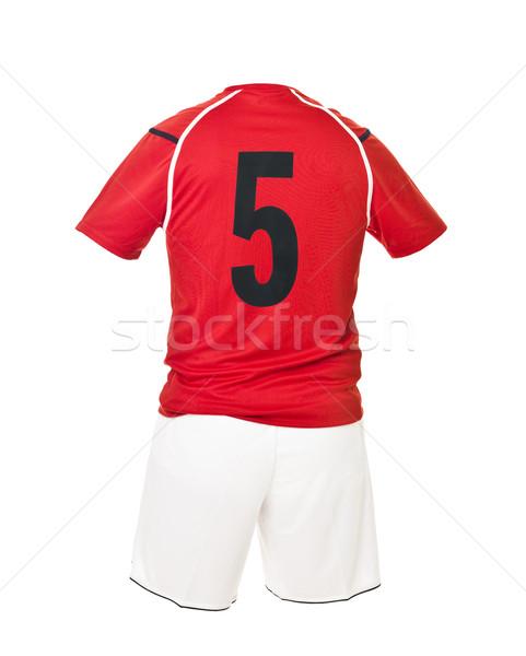 Football shirt with number 5 Stock photo © gemenacom