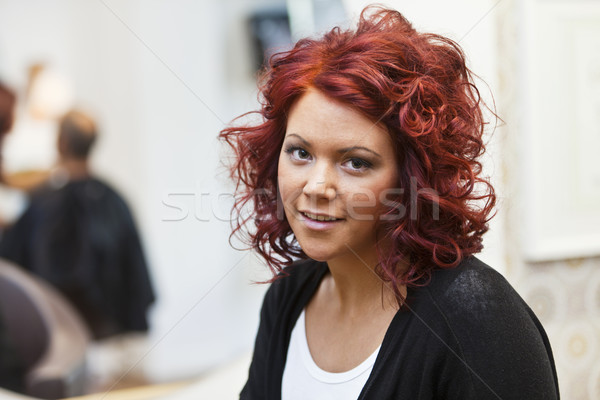 Woman with red hair Stock photo © gemenacom