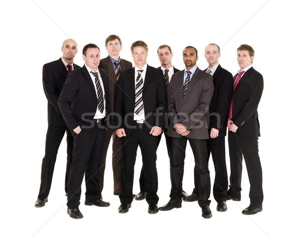 Bordo isolato bianco business imprenditore uomini Foto d'archivio © gemenacom