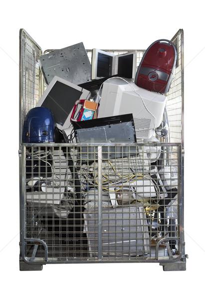 Electronic Garbage Stock photo © gemenacom