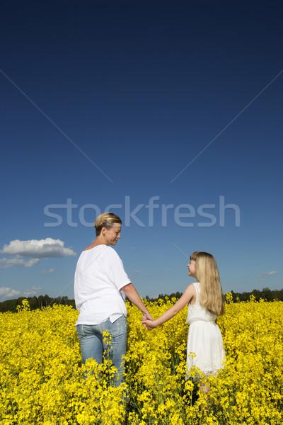Mother and Daughter Stock photo © gemenacom