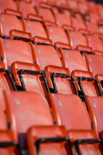 Aréna szék fekete minta esemény űrlap Stock fotó © gemenacom