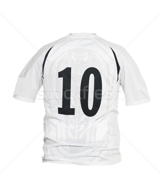 Fútbol camisa número 10 aislado blanco Foto stock © gemenacom