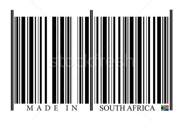 South Africa Barcode Stock photo © gemenacom