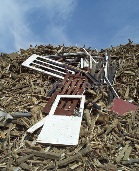 Wood Garbage Stock photo © gemenacom