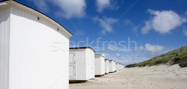 Branco praia casa mar verão Foto stock © gemenacom