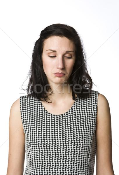 Sad girl Stock photo © gemenacom