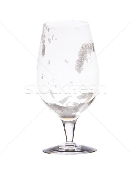 Empty glass of beer Stock photo © gemenacom
