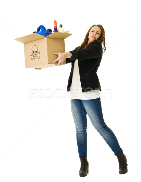 Unhealthy Recycling Stock photo © gemenacom