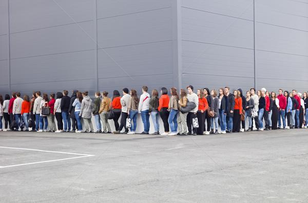 Waiting in Line Stock photo © gemenacom