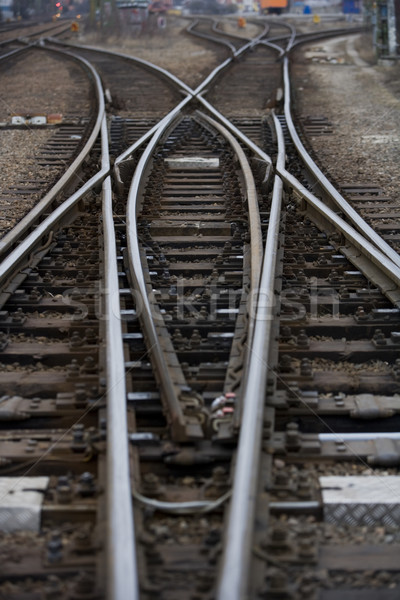 Railroad Tracks Stock photo © gemenacom