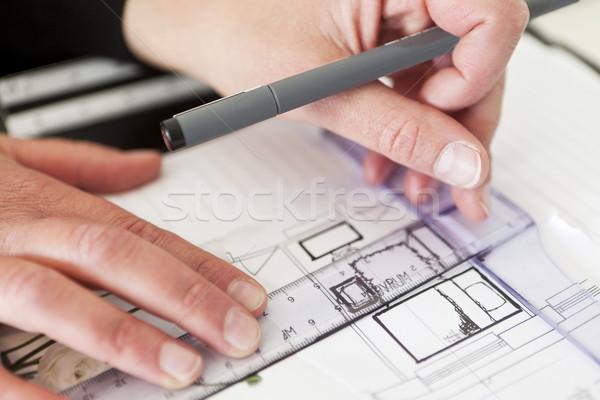 Architecture close up Stock photo © gemenacom