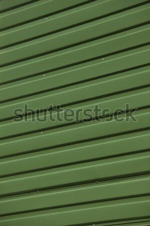 Green Corrugated Iron Stock photo © gemenacom