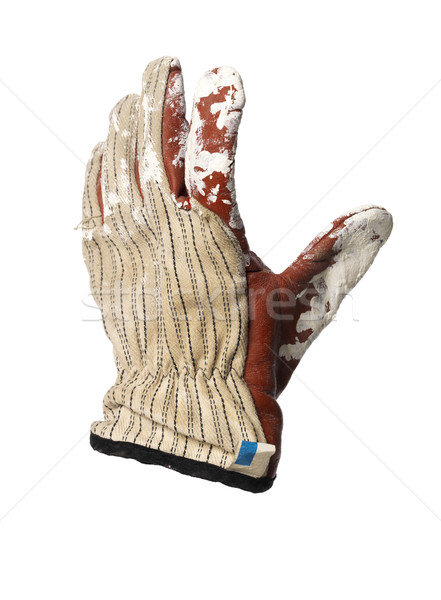 Dirty protection glove Stock photo © gemenacom