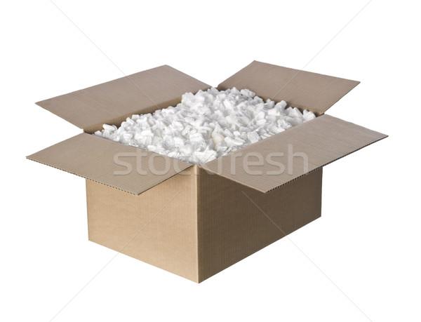 Open pinda's vak pakket Stockfoto © gemenacom