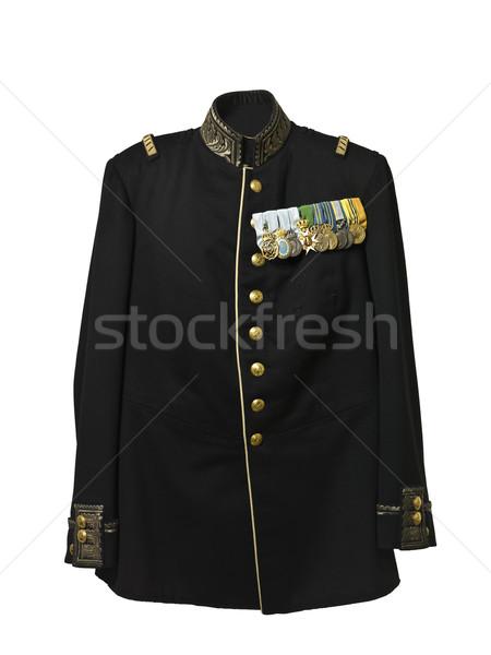 Vintage army jacket Stock photo © gemenacom
