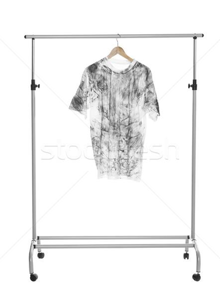 Dirty T-Shirt Stock photo © gemenacom