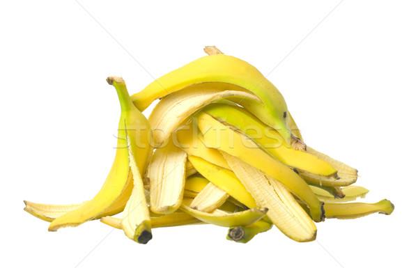 Stack of Banana skin Stock photo © gemenacom
