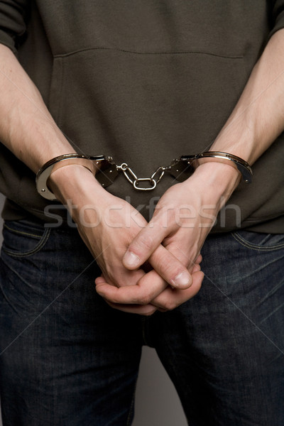 Man with Handcuffs Stock photo © gemenacom