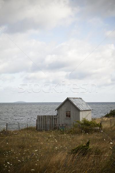 Old house by the coast Stock photo © gemenacom