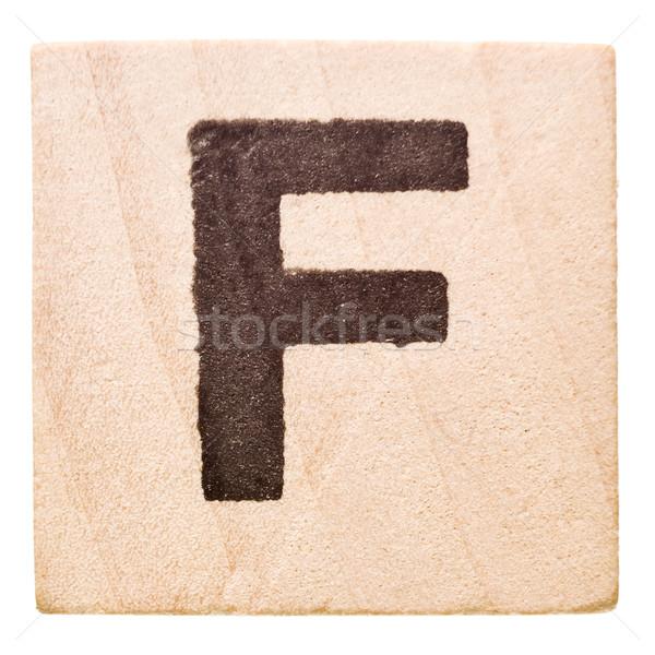 Letter F Stock photo © gemenacom