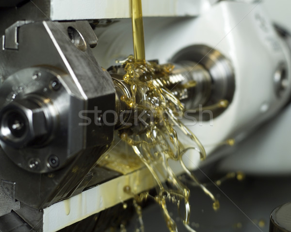Oil in machine Stock photo © gemenacom