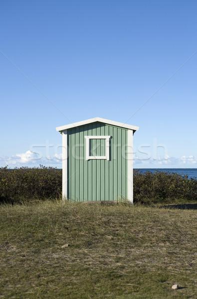 Single boathouse Stock photo © gemenacom