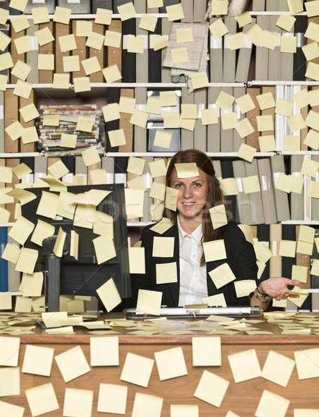 Busy woman Stock photo © gemenacom