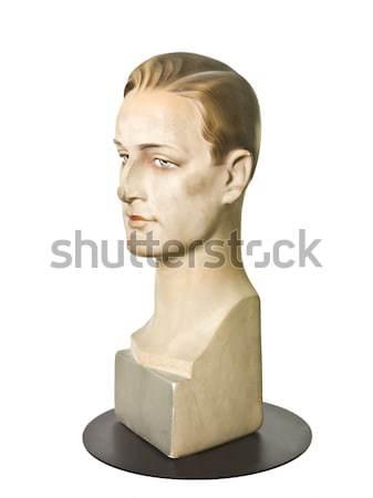 Maschile mannequin isolato bianco modello pelle Foto d'archivio © gemenacom