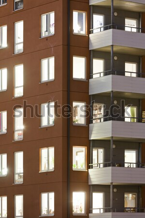Apartment building Stock photo © gemenacom