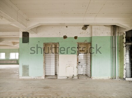 Worn Warehouse Stock photo © gemenacom