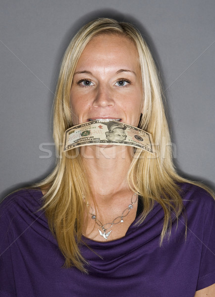 bill mouth her Dollar blowjob in