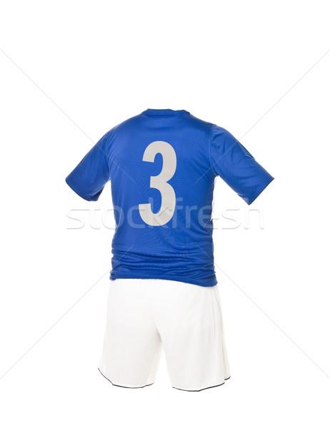 Football shirt with number 3 Stock photo © gemenacom