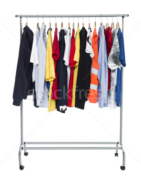 Clothes on a Rack Stock photo © gemenacom