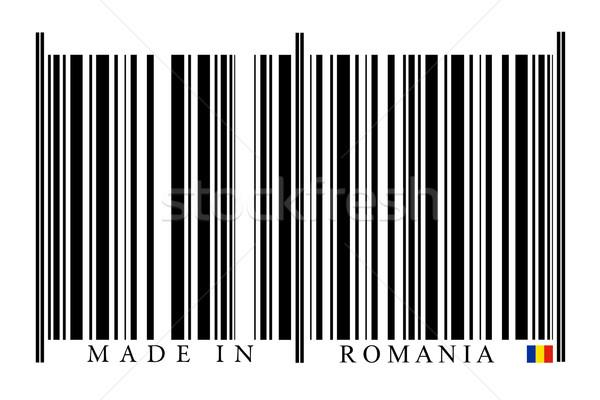 ルーマニア バーコード 白 技術 黒 市場 ストックフォト © gemenacom