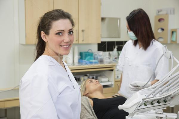 Female Dentist Stock photo © gemenacom